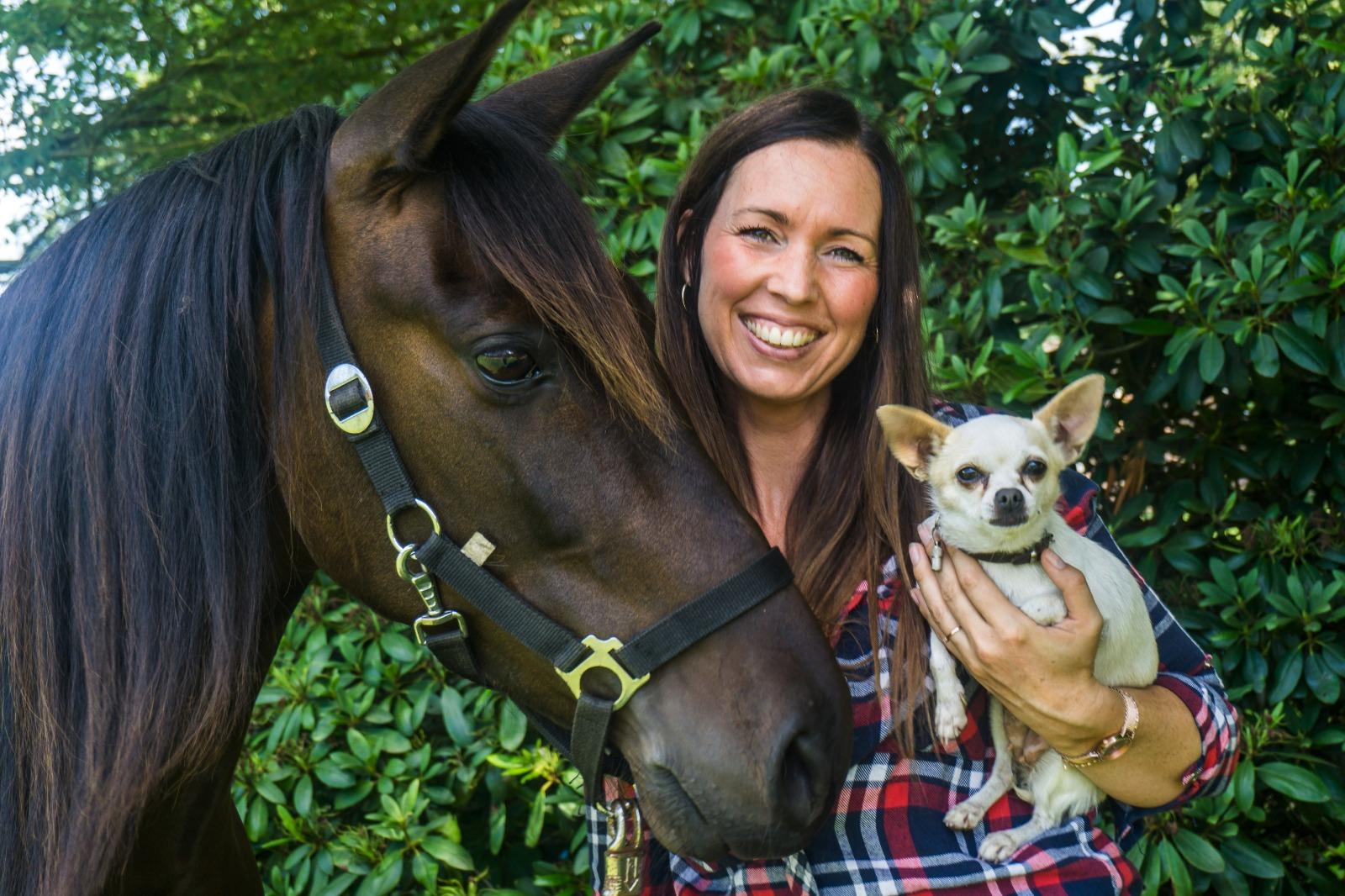 Paarden en Honden Aroma Massage
